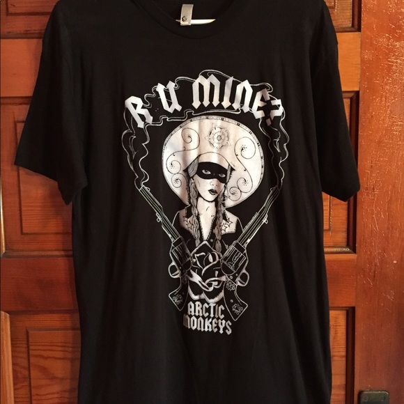 902cb8c49 American Apparel Tops | Arctic Monkeys R U Mine Tshirt | Poshmark